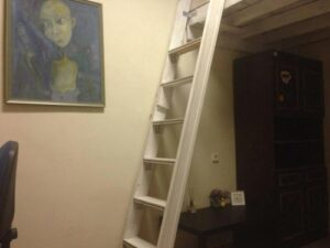 Minimalistic room in manor next to…